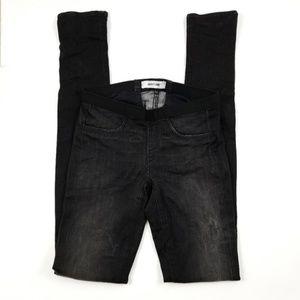 Helmut Lang black stretch jean legging -B4